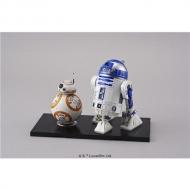 スターウォーズ 1/12 BB-8 & R2-D2 プラスチックキット