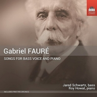 フォーレ (1845-1924)/Melodies For Bass & Piano: Jared Schwartz(B) Howat(P)