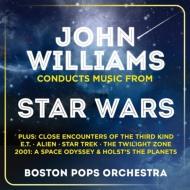 スター・ウォーズと名映画音楽集&ホルスト『惑星』 ジョン・ウィリアムズ&ボストン・ポップス管(2CD)