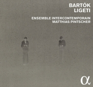 リゲティ:協奏曲集、バルトーク:2台ピアノと打楽器のためのソナタ、他 ピンチャー&アンサンブル・アンテルコンタンポラン(2CD)