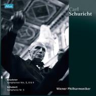 ブルックナー:交響曲第5番、第8番、第9番、シューベルト:交響曲第5番 シューリヒト&ウィーン・フィル(1955〜65)(6LP)