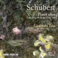 シューベルト(1797-1828)/Piano Trio 1 2 : Guarneri Trio Prague