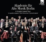 ヴィヴァルディ:『四季』、チェロ協奏曲集、オーボエを含む協奏曲集、ルベル:四大元素 ベルリン古楽アカデミー、M.ザイラー、ケラス、レフラー(3CD)