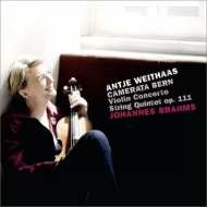 Violin Concerto, String Quintet No.2 (arr.for string orchestra): Weithaas(Vn)Camerata Bern