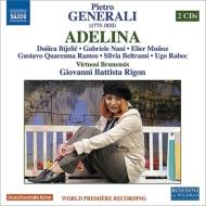 歌劇『アデリーナ』全曲 リゴン&ヴィルトゥオージ・ブルネンシス、ビジェリク、ラモス、他(2010 ステレオ)(2CD)
