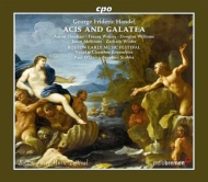 ヘンデル(1685-1759)/Acis And Galatea: O'dette / Boston Early Music Festival Chamber Ensemble