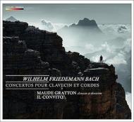 チェンバロと弦楽合奏のための協奏曲集 グラットン、イル・コンヴィート