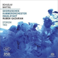 マルチヌー(1890-1959)/Concerto & Concertino For Piano Trio: Storioni Trio Gazarian / Ingolstadt Georgian