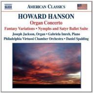Organ Concerto: Jackson(Org), Imreh(P)/ Spalding / Pvco