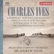 ホリデイ・シンフォニー、答えのない質問、宵闇のセントラル・パーク、ニュー・イングランドの3つの場所 アンドルー・デイヴィス&メルボルン響