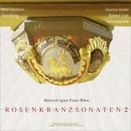 『ロザリオのソナタ』第2集 アンネ・シューマン(バロック・ヴァイオリン)、クネーベル(オルガン)