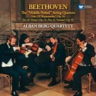 ベートーヴェン(1770-1827)/String Quartet 7 8 9 10 11 : Alban Berg Q (1978-1979)