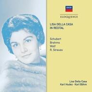 Lisa Della Casa in Recital -Schubert, Brahms, Wolf, R.Strauss : Bohm / Vienna Philharmonic, Hudez(P)