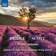 ブリッジ:ピアノ五重奏曲、スコット:ピアノ五重奏曲第1番 テッローニ、ビンガム弦楽四重奏団