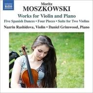 ヴァイオリンとピアノのための作品集 ラシドヴァ、グリムウッド
