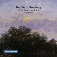 チェロ協奏曲第1番、第5番 メルコンヤン、ウィレンズ&ケルン・アカデミー