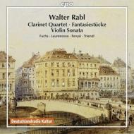 クラリネット四重奏曲、幻想的小品、ヴァイオリン・ソナタ W.フックス、ロランソー、フェニェー、トリエンドル