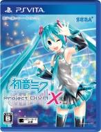 Game Soft (PlayStation Vita)/初音ミク Project Diva-x