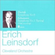 シューマン:交響曲第1番『春』、ドヴォルザーク:交響曲第6番 ラインスドルフ&クリーヴランド管
