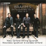 ブラームス(1833-1897)/String Quartet 1 2 : New Orford Sq