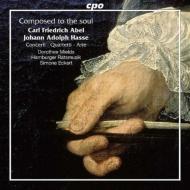 アーベル:四重奏曲集、ハッセ:アリア、他 エッケルト&ハンブルク・ラーツムジーク、ミールズ