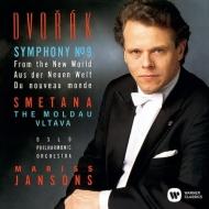 ドヴォルザーク:交響曲第9番『新世界より』、スメタナ:モルダウ ヤンソンス&オスロ・フィル