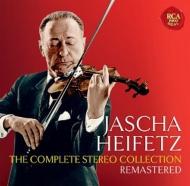 ヤッシャ・ハイフェッツ/ザ・コンプリート・ステレオ・コレクション(24CD)