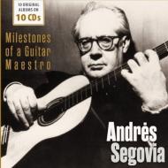 アンドレス・セゴビア/10のオリジナル・アルバム(10CD)
