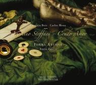ステッファーニ(1653-1728)/Duetti Da Camera-crudo Amor: Zapico / Forma Antiqua Boix Mena