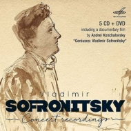 Vladimir Sofronitzky : Concert Recordings 1951-1960 (5CD)(+PAL-DVD)