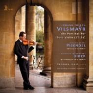 ヴィルスマイアー:無伴奏ヴァイオリンのための6つのパルティータ、ピゼンデル:無伴奏ソナタ、ビーバー:パッサカリア ヴォーン・ジョーンズ(2CD)