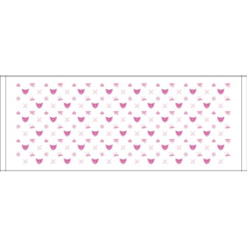 モノガラ ドラゴンクエスト フェイスタオル ホワイト & ピンク