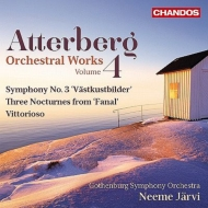 交響曲第3番『西海岸の風景』、管弦楽のための『勝利』、3つの夜想曲 ネーメ・ヤルヴィ&エーテボリ響