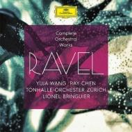 管弦楽曲全集、ピアノ協奏曲集、ツィガーヌ ブランギエ&チューリッヒ・トーンハレ管、ユジャ・ワン、レイ・チェン(4CD)