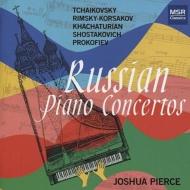 チャイコフスキー:ピアノ協奏曲第1番、ハチャトゥリアン:ピアノ協奏曲、ショスタコーヴィチ、他 ジョシュア・ピアース、フリーマン指揮、他(2CD)