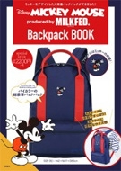 Disney MICKEY MOUSE produced by MILKFED.Backpack BOOK