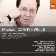 Songs With Orch: Eager / Londamis Ensemble Domnich Imbrailo Spence