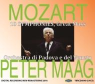 Symphonies Nos.31, 32, 33, 34, 35, 36, 38, 39, 40, 41, Mass K.427 : Maag / Padova e del Veneto Orchestra, etc (4CD)
