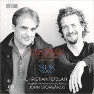 ドヴォルザーク:ヴァイオリン協奏曲、ロマンス、スーク:幻想曲 テツラフ、ストゥールゴールズ&ヘルシンキ・フィル
