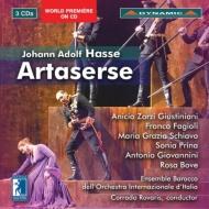 『アルタセルセ』全曲 ロヴァリス&イタリア国際管、ジュスティニャーニ、ファジョーリ、他(2012 ステレオ)(3CD)