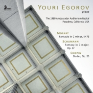 Youri Egorov : The 1980 Ambassador Auditorium Recital Pasadena California USA