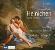 イタリア風カンタータと協奏曲集 シェーダー、テリー・ウェイ、バツドルファー・ホーフカペレ