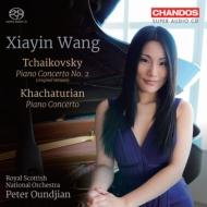 チャイコフスキー:ピアノ協奏曲第2番、ハチャトゥリアン:ピアノ協奏曲 シャイン・ワン、ウンジャン&スコティッシュ・ナショナル管