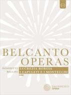 ドニゼッティ:『ルクレツィア・ボルジア』全曲、ベッリーニ:『カプレーティとモンテッキ』全曲 サンフランシスコ歌劇場(2012 ステレオ)(4DVD)