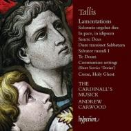 エレミアの哀歌、サンクトゥス、グローリア、テ・デウム、他 カーウッド&カージナルズ・ミュージック