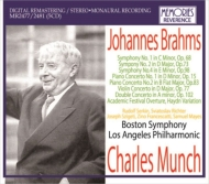 Symphonies Nos.1, 2, 4, Concertos : Munch / Boston SO, Los Angeles PO, Szigeti, Francescatti, Serkin Sviatoslav Richter, etc (1954-66)(5CD)