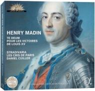 Te Deum Victories Of Louis 15: Cuiller / Ensemble Stradivaria Les Cris De Paris