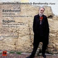 ベートーヴェン:ディアベリ変奏曲、ブラームス:ピアノ・ソナタ第3番 ラビノヴィチ
