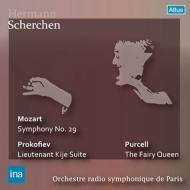 モーツァルト:交響曲第29番、プロコフィエフ:キージェ中尉、パーセル:『妖精の女王』より シェルヘン&パリ放送響(1954)