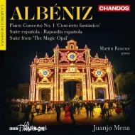 スペイン狂詩曲、幻想的協奏曲、スペイン組曲、魔法のオパール メナ&BBCフィル、ロスコー